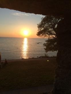 Solnedgång - Ringmuren