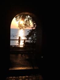 Solnedgång - Kärleksporten