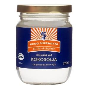 kung-markatta-kokosolja-kallpressad-virgin-eko-225-ml