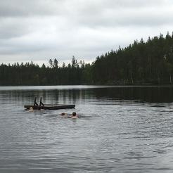 20 grader i vattnet - till och med jag badade ;)